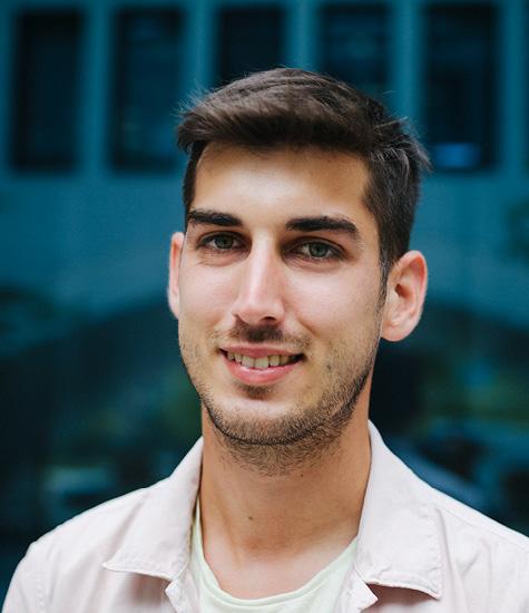 David Marn ist Softwareentwickler und gehört ebenfalls zum Anonymization Team des GSEC in München.