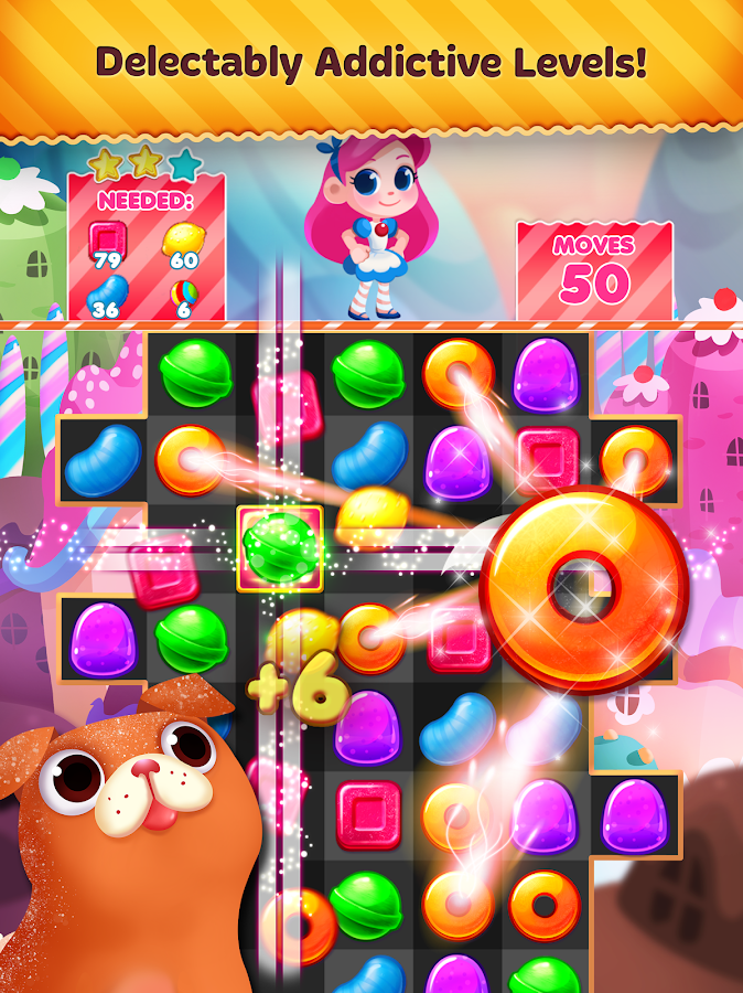 Screenshots of Candy Blast Mania for iPhone