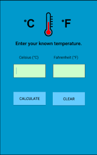 Celsius and Fahrenheit Temperature Conversion - náhled