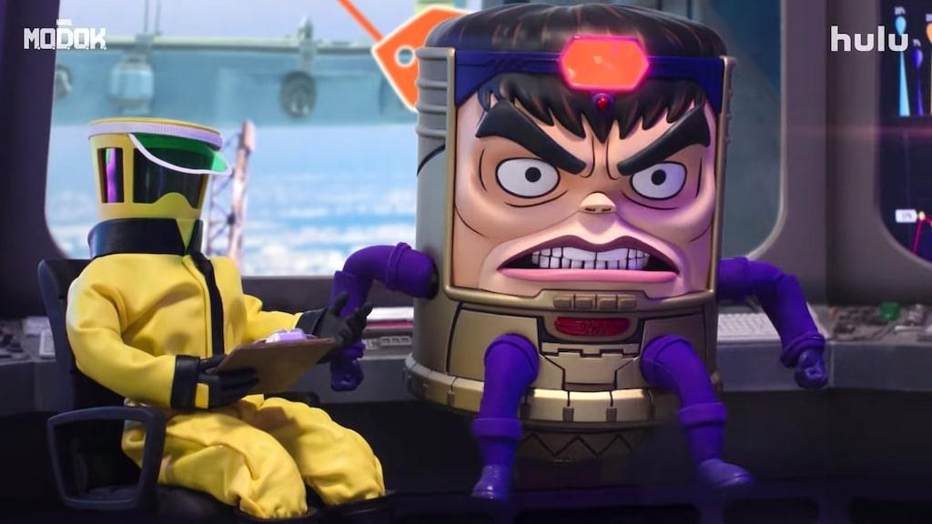 Patton Oswalt Stars as the Marvel Villain M.O.D.O.K. (Mental Organism  Designed Only For Killing) on Hulu
