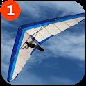 Hang Glider 3D icon