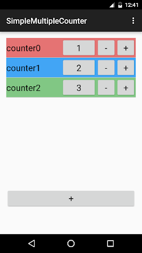 Simple Multiple Counter