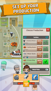 Idle Factory Tycoon MOD (Unlimited Money) 8