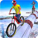 Impossible Tracks Bicycle Rider: BMX Simulation icon
