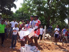 Photo: Sridhar didn't need that tall a podium, I guess ;)