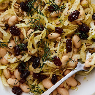 Marinated Fennel with White Beans and Raisins Recipe
