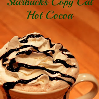 Copycat Starbucks Hot Cocoa.