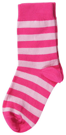Maxomorra Socks Cerise 2-pack