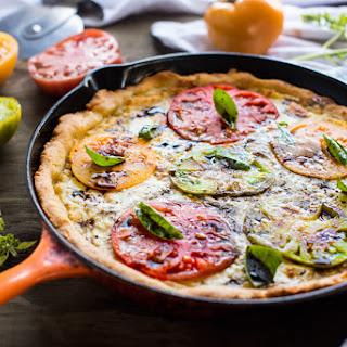 BRAZILIAN CHEESE BREAD SKILLET PIZZA.