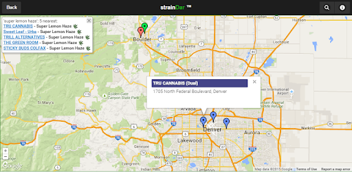 Straindar cannabis locator apps on google play for Where is the closest craft store to my location