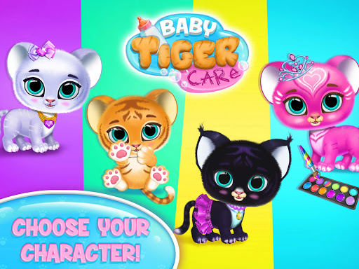 Baby Tiger Care - My Cute Virtual Pet Friend  image 8