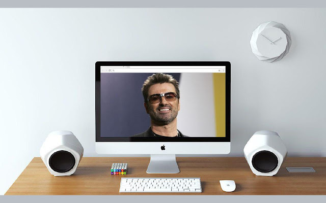 George Michael Wallpapers and New Tab