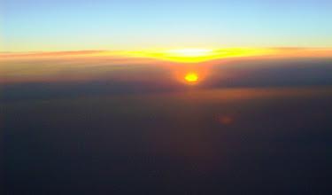 Photo: Auf dem Heimflug