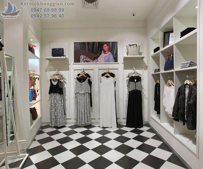 Thiết kế shop thời trang lôi cuốn và nổi bật