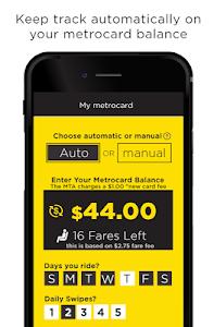 MetroCard Balance Tracker Mta screenshot 0