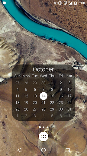 Screenshot for KWGT Kustom Widget Pro Key in United States Play Store