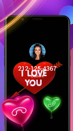 Screenshot for Cupid Arrow Caller Screen in United States Play Store