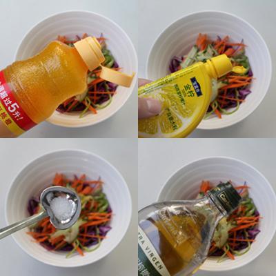 cách làm salad trộn cá ngừ đơn giản 7