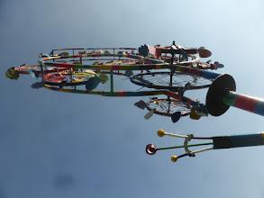 Photo: Unteransicht der Kunst Windräder, Windblühte, Windspiel in verschiedensten Ansichten, MIrko Siakkou-Flodin