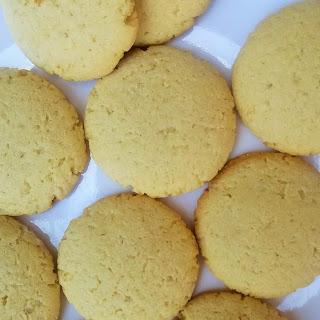 Cassava Coconut Biscuits.