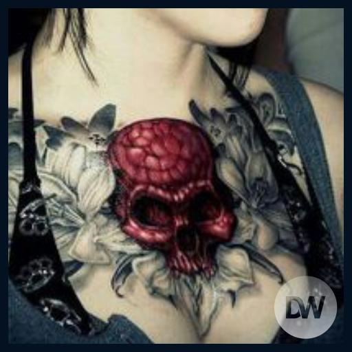 玩免費遊戲APP|下載Skull Tattoos Ideas app不用錢|硬是要APP