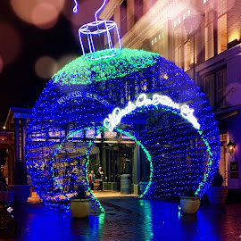 Ornaments of New Orleans  by Lorna Littrell - Public Holidays Christmas ( reflections, holiday decorations, christmas, lights )