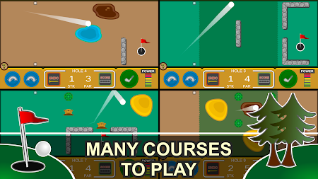 Mini Arcade Golf: Pocket Tours APK screenshot thumbnail 2