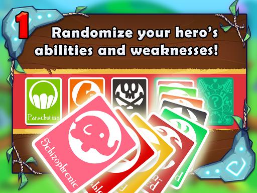 Adventure Land - Wacky Rogue Runner Free Game screenshot 8