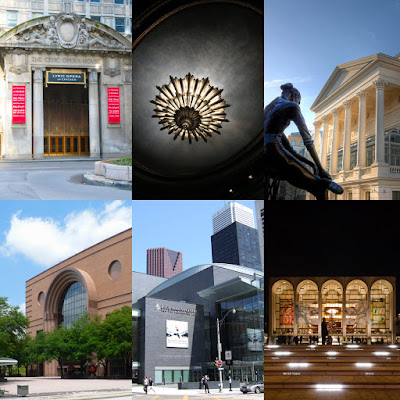 6 opera houses, Google-reviewed