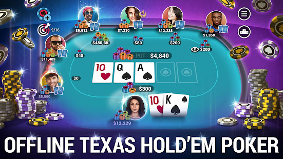 ポーカーワールド-オフラインテキサスホールデム