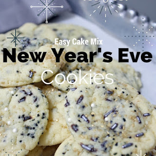 Easy New Year's Eve Cookies.