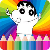 Coloring Book For Shinchan