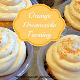 Orange Dreamsicle Buttercream Frosting #Recipe