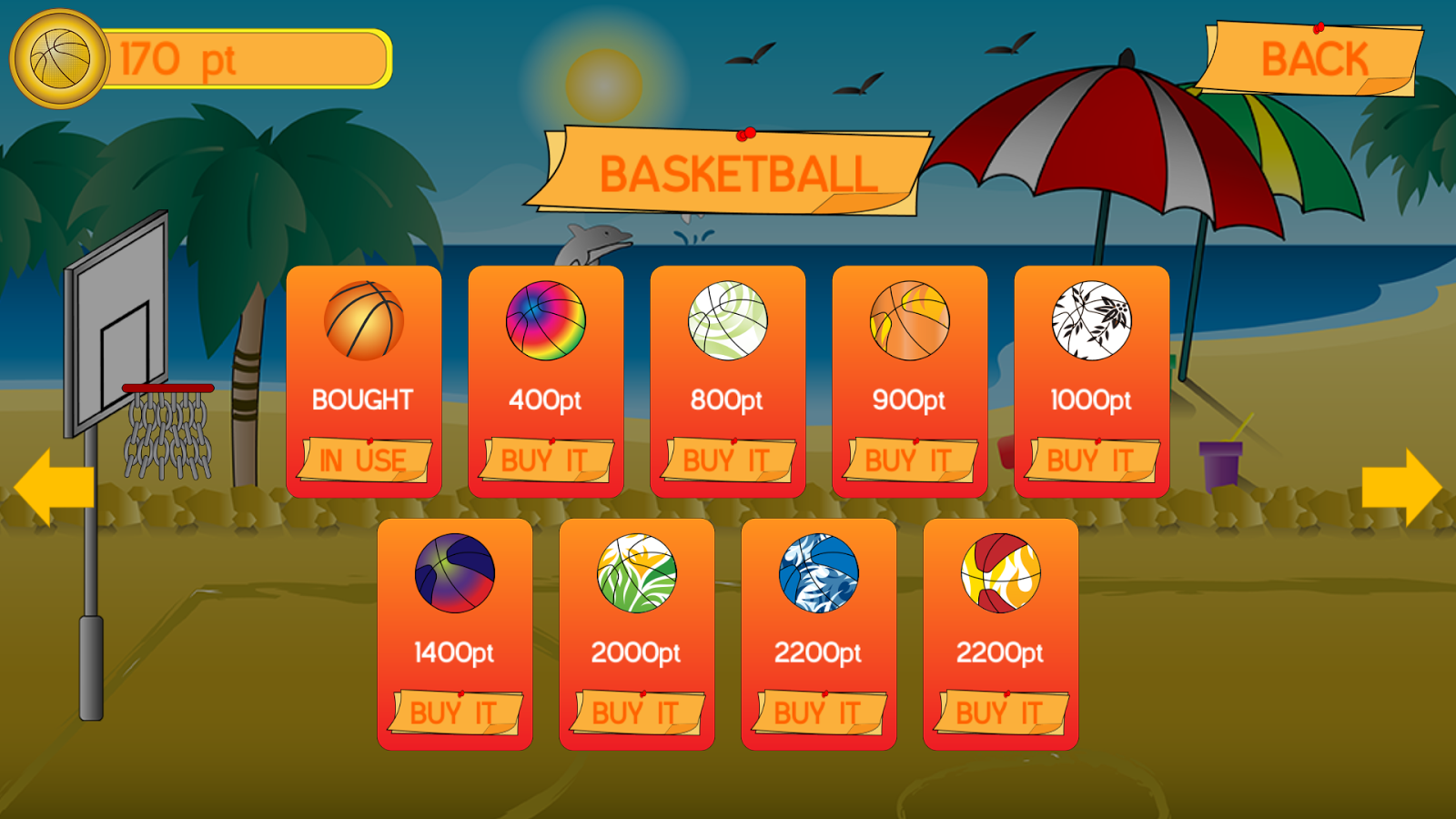 Basketball Shots- screenshot