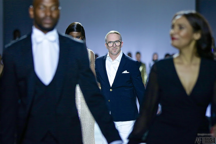 Creative director of Fabiani Designer Warrick Gautier.