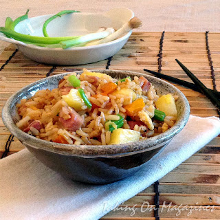 Hawaiian Fried Rice from Cook's Country Magazine, April/May 2013