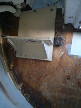 Photo: This shelf served as a mount for the Alder-Barbour condenser unit.