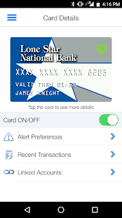 Card Manager - Debit- screenshot thumbnail