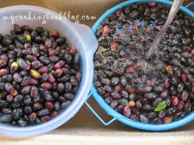 Как се правят черни маслини в саламура