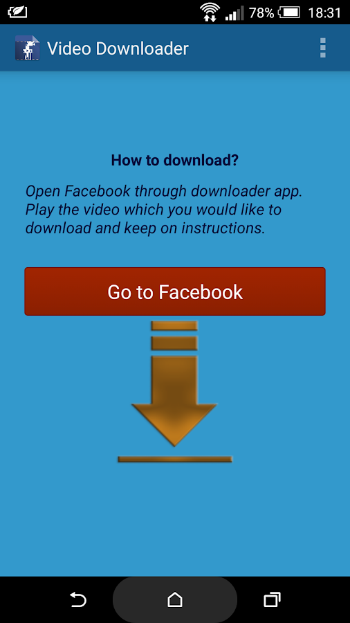 Video Downloader for Facebook- screenshot
