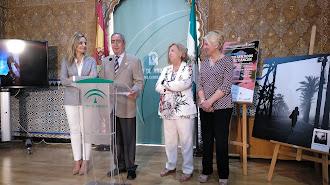 Acto de presentación de la gala en la Delegación del Gobierno de la Junta de Andalucía.