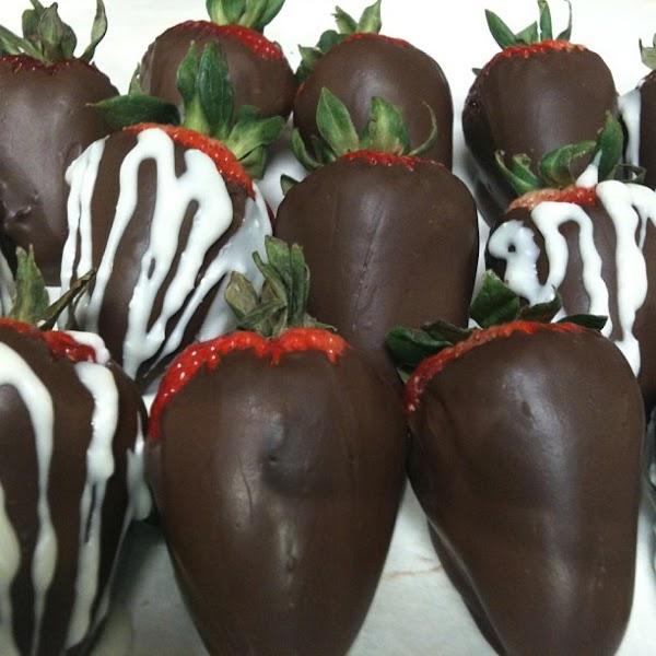 Chocolate Dipped Fuit / Strawberries Recipe