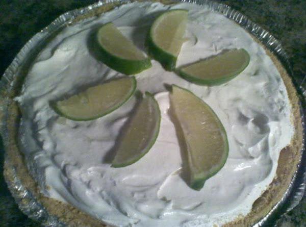 No Bake Lime Pie Recipe