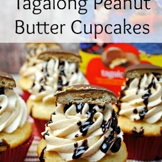 Tagalong Peanut Butter Cupcakes