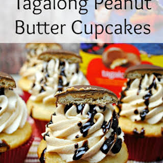 Tagalong Peanut Butter Cupcakes.