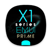 X1S Prime Cyan EMUI 5 Theme (Black) Android APK Download Free By Absoft Studio