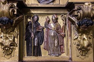 Photo: Predela del altar mayor.