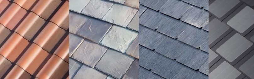 Dachówki solarne - różne warianty