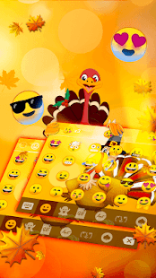 Thanksgiving Day Keyboard - náhled