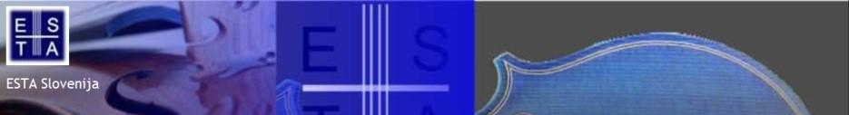 Društvo učiteljev godalnih instrumentov ESTA Slovenija